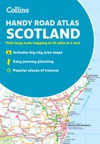 Collins Handy Road Atlas Scotland: A5 Paperback Paperback NED by Collins Maps