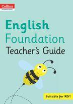 Collins International Foundation – Collins International English Foundation Teacher's Guide Paperback  by Fiona MacGregor