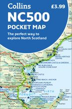 NC500 Pocket Map: The perfect way to explore North Scotland Sheet map, folded NED by Collins Maps