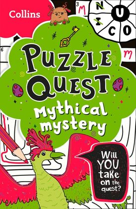 Puzzle Quest Mythical Mystery: Solve more than 100 puzzles in this adventure story for kids aged 7+