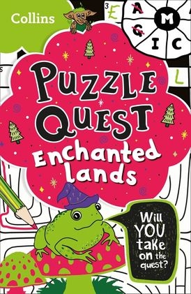 Puzzle Quest Enchanted Lands: Solve more than 100 puzzles in this adventure story for kids aged 7+