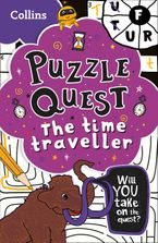 The Time Traveller: More than 100 fun puzzles! (Puzzle Quest) Paperback  by Collins Kids