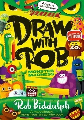 Draw With Rob: Monster Madness