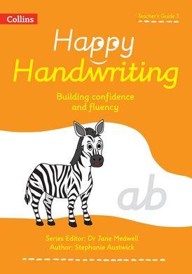 Happy Handwriting – Teacher's Guide 3