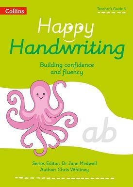 Happy Handwriting – Teacher's Guide 4