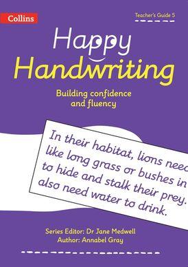 Happy Handwriting – Teacher's Guide 5
