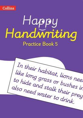 Happy Handwriting – Practice Book 5