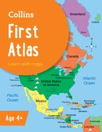 Collins First Atlas (Collins School Atlases) Paperback  by Collins Maps
