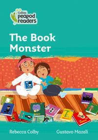 collins-peapod-readers-level-3-the-book-monster