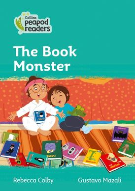 Collins Peapod Readers – Level 3 – The Book Monster