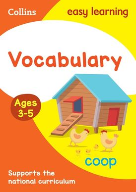 Vocabulary Activity Book Ages 3-5 (Collins Easy Learning Preschool)