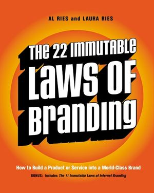 The 22 Immutable Laws of Branding book image
