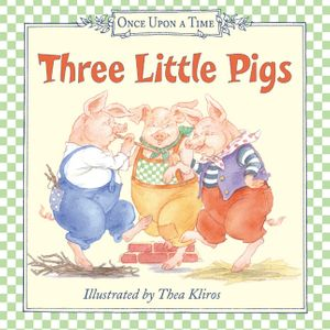 Three Little Pigs book image