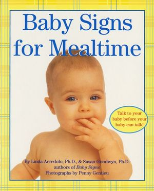 Baby Signs for Mealtime book image