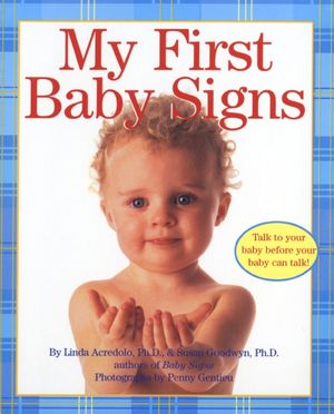 My First Baby Signs book image