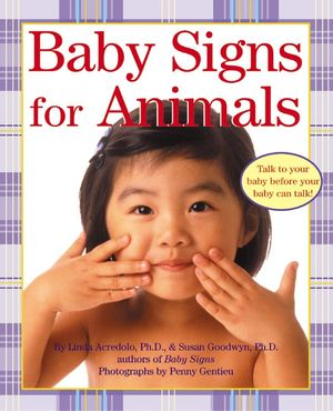 Baby Signs for Animals book image