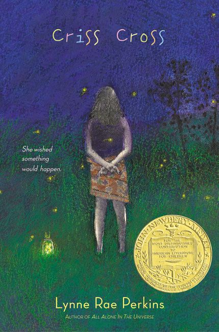 criss cross by lynne rae perkins book report What people are saying - write a review  we shared the book as a kind of  choral reading, with children performing the parts of the speakers, and acting out  the sounds  lynne rae perkins was awarded the newbery medal for criss  cross.