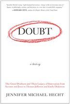 Doubt: A History Paperback  by Jennifer Hecht