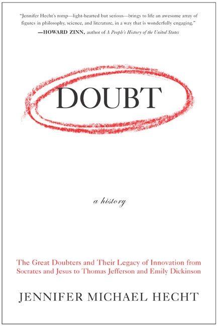Doubt A History Jennifer Hecht Paperback
