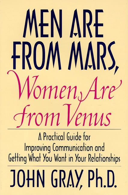 men from mars women are from venus john gray first print -#main