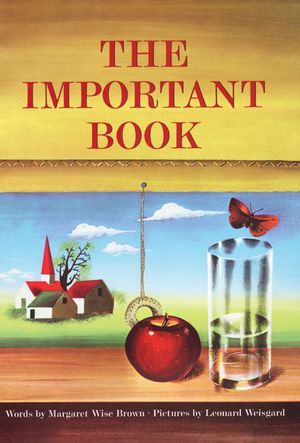 The Important Book book image