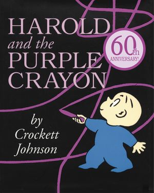 Harold and the Purple Crayon book image