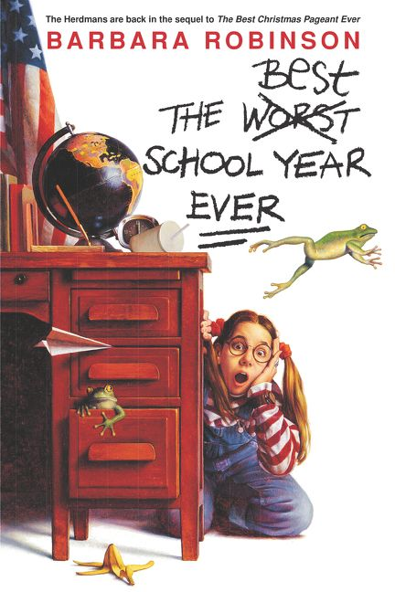 The best school year ever barbara robinson hardcover read a sample enlarge book cover fandeluxe Gallery