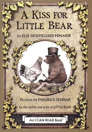 A Kiss for Little Bear book image