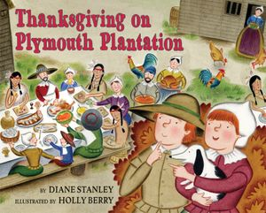 Thanksgiving on Plymouth Plantation book image