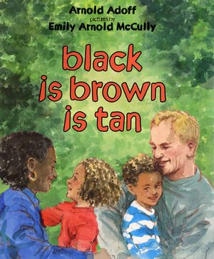 black is brown is tan book image