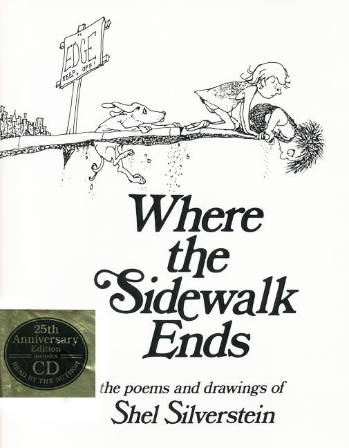 Where the sidewalk ends book and cd shel silverstein hardcover where the sidewalk ends book and cd fandeluxe Choice Image