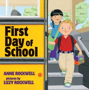 First Day of School book image