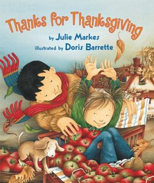 Thanks for Thanksgiving book image