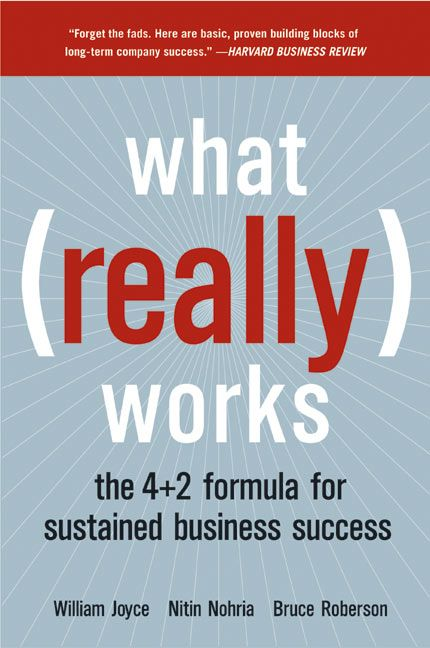 Book cover image: What Really Works: The 4+2 Formula for Sustained Business Success