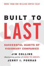 Book cover image: Built to Last: Successful Habits of Visionary Companies