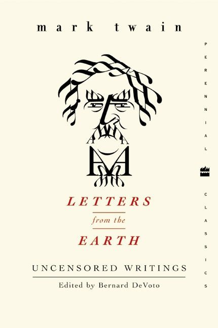 Letters From The Earth Mark Twain Paperback