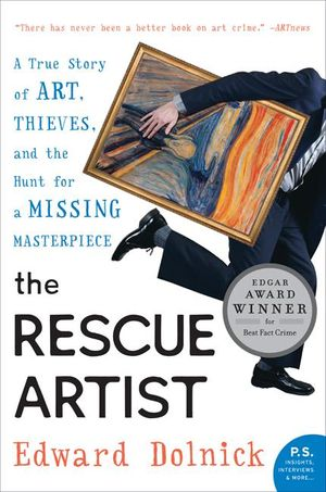 The Rescue Artist book image