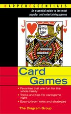 Card Games Paperback  by The Diagram Group
