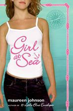 Girl at Sea Paperback  by Maureen Johnson