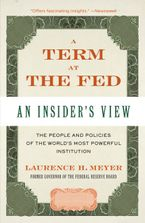 A Term at the Fed Paperback  by Laurence H. Meyer