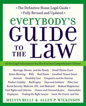 Everybody's Guide to the Law, Fully Revised & Updated, 2nd Edition book image