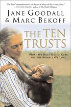 The Ten Trusts Paperback  by Jane Goodall