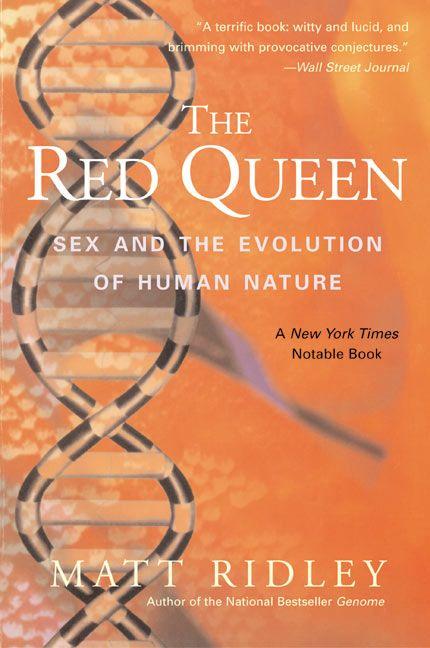 Business Book Cover Queen : The red queen matt ridley paperback