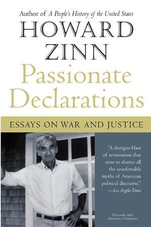 Passionate Declarations book image