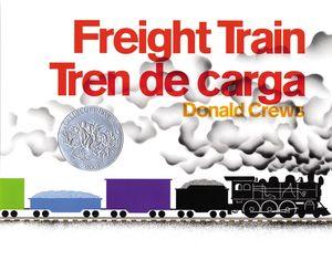 Freight Train/Tren de carga book image
