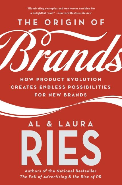 Book cover image: The Origin of Brands: How Product Evolution Creates Endless Possibilities for New Brands