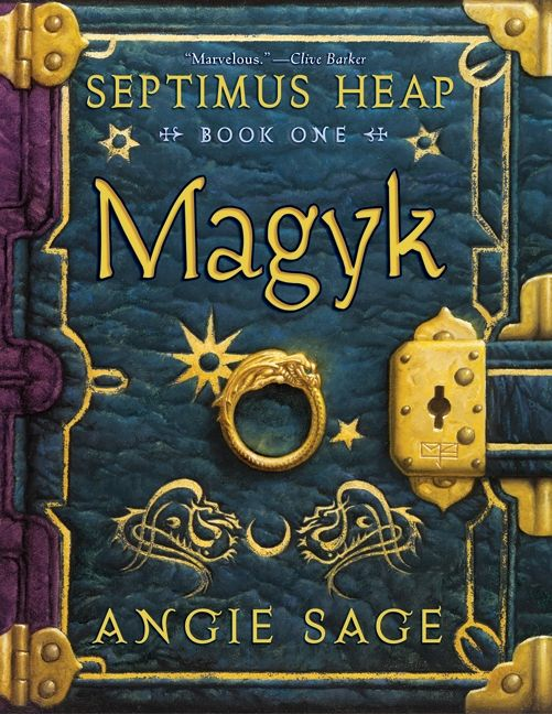 Septimus Heap Book One Magyk Angie Sage Hardcover