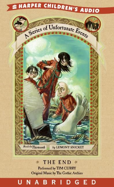 Book Cover Series Of Unfortunate Events : A series of unfortunate events the end lemony