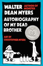 Autobiography of My Dead Brother Paperback  by Walter Dean Myers