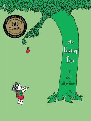 The Giving Tree with CD book image